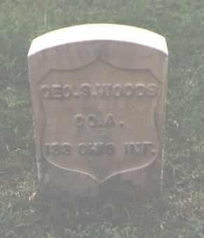 WOODS, GEO. S. - Chaffee County, Colorado | GEO. S. WOODS - Colorado Gravestone Photos