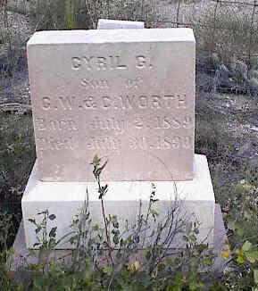 WORTH, CYRIL G. - Chaffee County, Colorado | CYRIL G. WORTH - Colorado Gravestone Photos