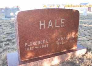 HALE, WILLIAM HARVEY - Cheyenne County, Colorado | WILLIAM HARVEY HALE - Colorado Gravestone Photos