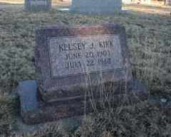 KIRK, KELSEY J - Cheyenne County, Colorado | KELSEY J KIRK - Colorado Gravestone Photos