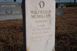 MCMILLEN, WILFRED - Cheyenne County, Colorado | WILFRED MCMILLEN - Colorado Gravestone Photos