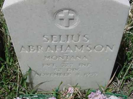 ABRAHAMSON, SELIUS A. - Clear Creek County, Colorado | SELIUS A. ABRAHAMSON - Colorado Gravestone Photos