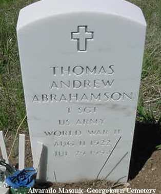 ABRAHAMSON, THOMAS ANDREW - Clear Creek County, Colorado | THOMAS ANDREW ABRAHAMSON - Colorado Gravestone Photos