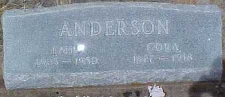 ANDERSON, CORA - Clear Creek County, Colorado | CORA ANDERSON - Colorado Gravestone Photos