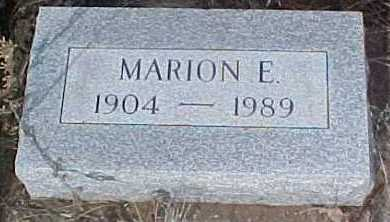 ANDERSON, MARION E. - Clear Creek County, Colorado | MARION E. ANDERSON - Colorado Gravestone Photos
