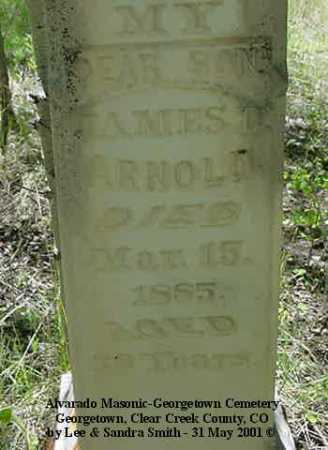 ARNOLD, JAMES D. - Clear Creek County, Colorado | JAMES D. ARNOLD - Colorado Gravestone Photos
