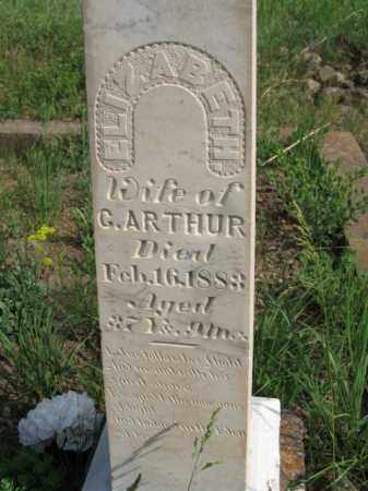 ARTHUR, ELIZABETH - Clear Creek County, Colorado | ELIZABETH ARTHUR - Colorado Gravestone Photos