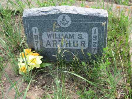 ARTHUR, WILLIAM S. - Clear Creek County, Colorado | WILLIAM S. ARTHUR - Colorado Gravestone Photos