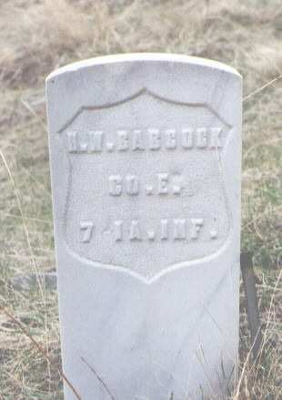 BABCOCK, H. W. - Clear Creek County, Colorado | H. W. BABCOCK - Colorado Gravestone Photos