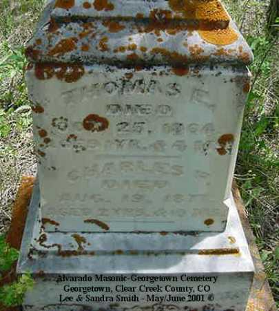 BAMBRICK, CHARLES F. - Clear Creek County, Colorado | CHARLES F. BAMBRICK - Colorado Gravestone Photos