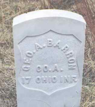 BARRON, GEO. A. - Clear Creek County, Colorado | GEO. A. BARRON - Colorado Gravestone Photos