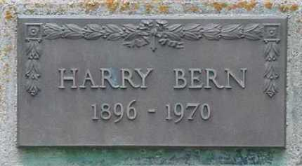 BERN, HARRY - Clear Creek County, Colorado | HARRY BERN - Colorado Gravestone Photos