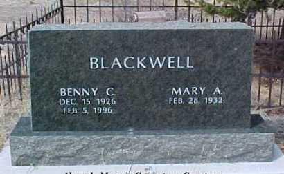 BLACKWELL, MARY A. - Clear Creek County, Colorado | MARY A. BLACKWELL - Colorado Gravestone Photos