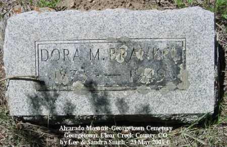 BRANKEL, DORA M. - Clear Creek County, Colorado | DORA M. BRANKEL - Colorado Gravestone Photos