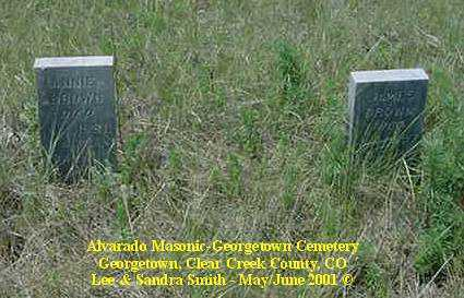 BROWN, JAMES - Clear Creek County, Colorado | JAMES BROWN - Colorado Gravestone Photos
