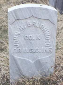 BRUSHWOOD, JOHN H. - Clear Creek County, Colorado | JOHN H. BRUSHWOOD - Colorado Gravestone Photos