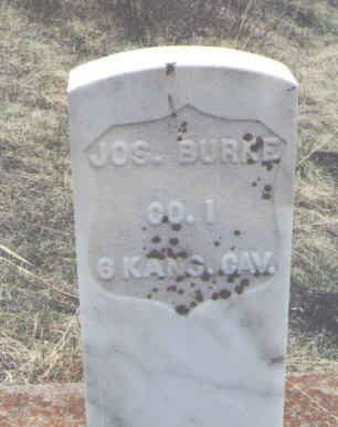 BURKE, JOS. - Clear Creek County, Colorado | JOS. BURKE - Colorado Gravestone Photos