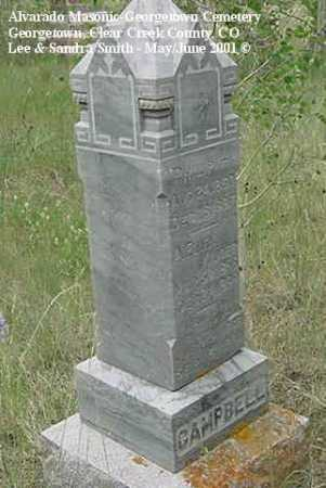 CAMPBELL, LOUIS A. - Clear Creek County, Colorado | LOUIS A. CAMPBELL - Colorado Gravestone Photos