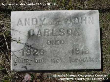 CARLSON, ANDY - Clear Creek County, Colorado | ANDY CARLSON - Colorado Gravestone Photos