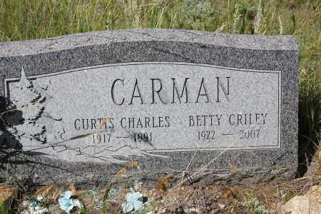 CRILEY CARMAN, BETTY - Clear Creek County, Colorado | BETTY CRILEY CARMAN - Colorado Gravestone Photos