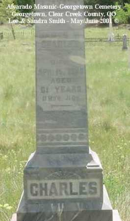 CHARLES, JAMES M. - Clear Creek County, Colorado | JAMES M. CHARLES - Colorado Gravestone Photos