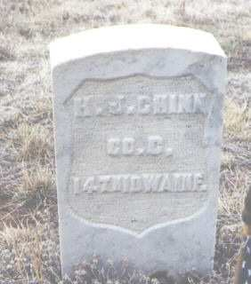 CHINN, H. J. - Clear Creek County, Colorado | H. J. CHINN - Colorado Gravestone Photos