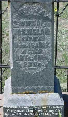 CLAIR, MARY JANE - Clear Creek County, Colorado | MARY JANE CLAIR - Colorado Gravestone Photos
