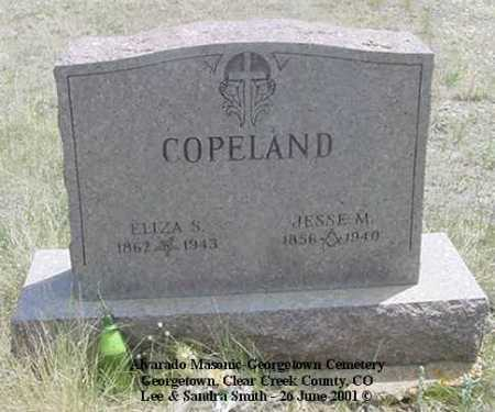 COPELAND, JESSE M. - Clear Creek County, Colorado | JESSE M. COPELAND - Colorado Gravestone Photos