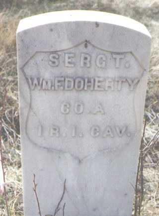 DOHERTY, WM. F. - Clear Creek County, Colorado | WM. F. DOHERTY - Colorado Gravestone Photos