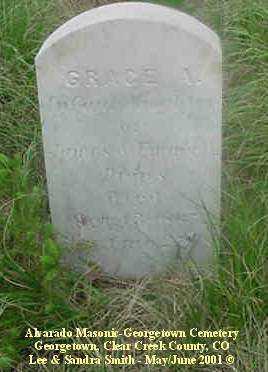 DRIPS, GRACE A. - Clear Creek County, Colorado   GRACE A. DRIPS - Colorado Gravestone Photos