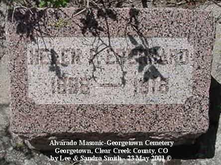EBERHARD, HELEN F. - Clear Creek County, Colorado | HELEN F. EBERHARD - Colorado Gravestone Photos