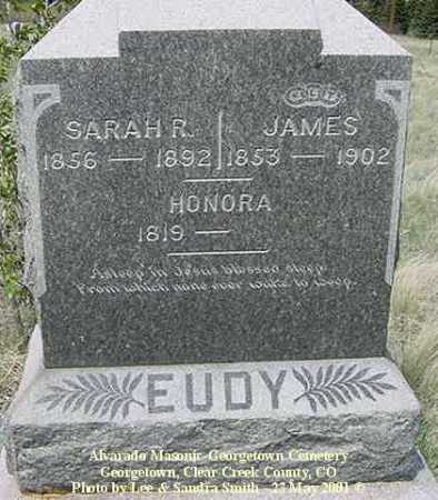 EUDY, JAMES - Clear Creek County, Colorado | JAMES EUDY - Colorado Gravestone Photos