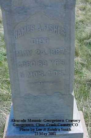 FISHER, JAMES A. - Clear Creek County, Colorado | JAMES A. FISHER - Colorado Gravestone Photos