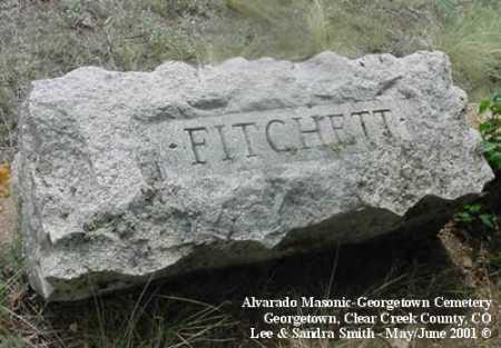 FITCHETTE, PLOT - Clear Creek County, Colorado | PLOT FITCHETTE - Colorado Gravestone Photos