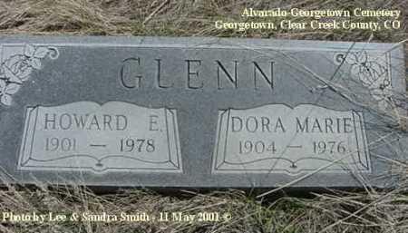 GLENN, DORA MARIE - Clear Creek County, Colorado | DORA MARIE GLENN - Colorado Gravestone Photos
