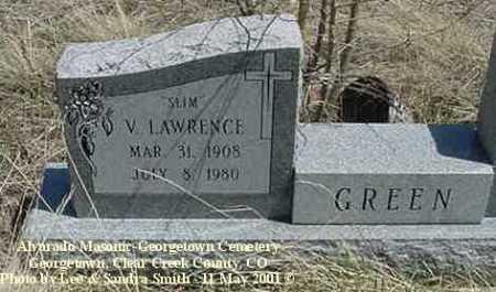 GREEN, V. LAWRENCE - Clear Creek County, Colorado | V. LAWRENCE GREEN - Colorado Gravestone Photos