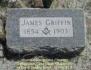 GRIFFIN, JAMES - Clear Creek County, Colorado | JAMES GRIFFIN - Colorado Gravestone Photos