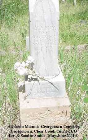 GRIFFITH, ADA MAY - Clear Creek County, Colorado | ADA MAY GRIFFITH - Colorado Gravestone Photos