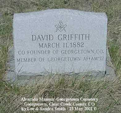 GRIFFITH, DAVID - Clear Creek County, Colorado | DAVID GRIFFITH - Colorado Gravestone Photos