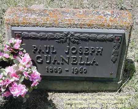 GUANELLA, PAUL JOSEPH - Clear Creek County, Colorado | PAUL JOSEPH GUANELLA - Colorado Gravestone Photos