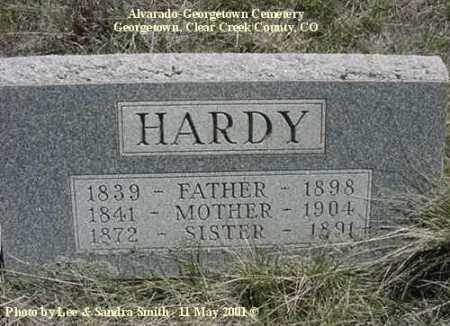 HARDY, SISTER - Clear Creek County, Colorado | SISTER HARDY - Colorado Gravestone Photos