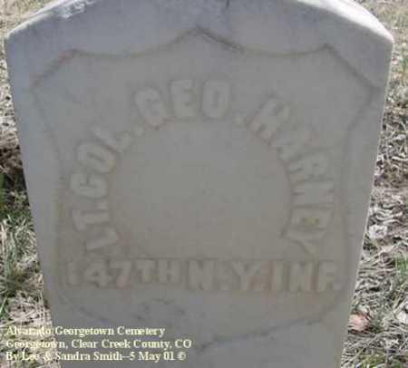HARNEY, GEO. - Clear Creek County, Colorado | GEO. HARNEY - Colorado Gravestone Photos