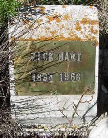 HART, NICK - Clear Creek County, Colorado | NICK HART - Colorado Gravestone Photos