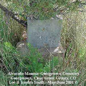 HARTMAN, EVA H. - Clear Creek County, Colorado | EVA H. HARTMAN - Colorado Gravestone Photos