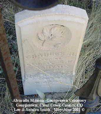HARVAT, CHARLES H. - Clear Creek County, Colorado   CHARLES H. HARVAT - Colorado Gravestone Photos