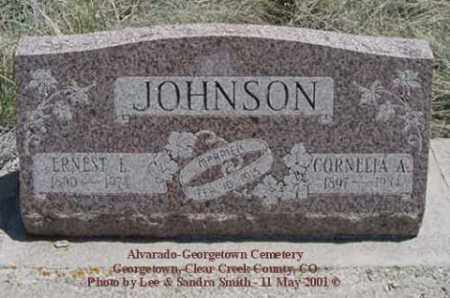 SARTAIN JOHNSON, CORNELIA A. - Clear Creek County, Colorado | CORNELIA A. SARTAIN JOHNSON - Colorado Gravestone Photos