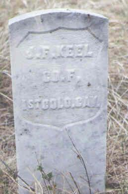 KEEL, J. F. - Clear Creek County, Colorado | J. F. KEEL - Colorado Gravestone Photos