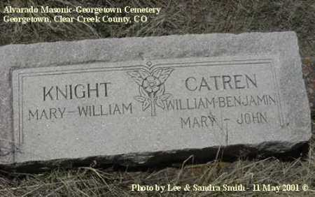 CATREN, JOHN - Clear Creek County, Colorado | JOHN CATREN - Colorado Gravestone Photos