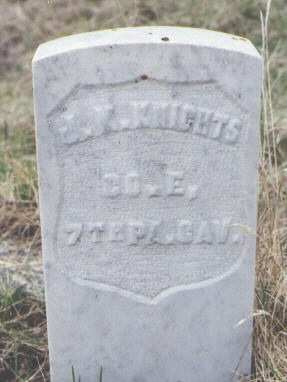 KNIGHTS, J. K. - Clear Creek County, Colorado | J. K. KNIGHTS - Colorado Gravestone Photos