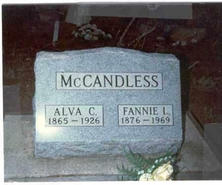 MCCANDLESS, FANNIE L. - Clear Creek County, Colorado | FANNIE L. MCCANDLESS - Colorado Gravestone Photos